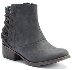 Candie's® Girls' Corset Ankle Boots $54.99 thestylecure.com