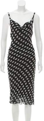 Cushnie et Ochs Silk Sequin Embellishment Dress