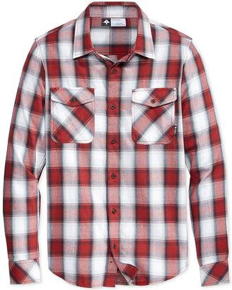 LRG Men's Long-Sleeve Plaid Shirt $56 thestylecure.com