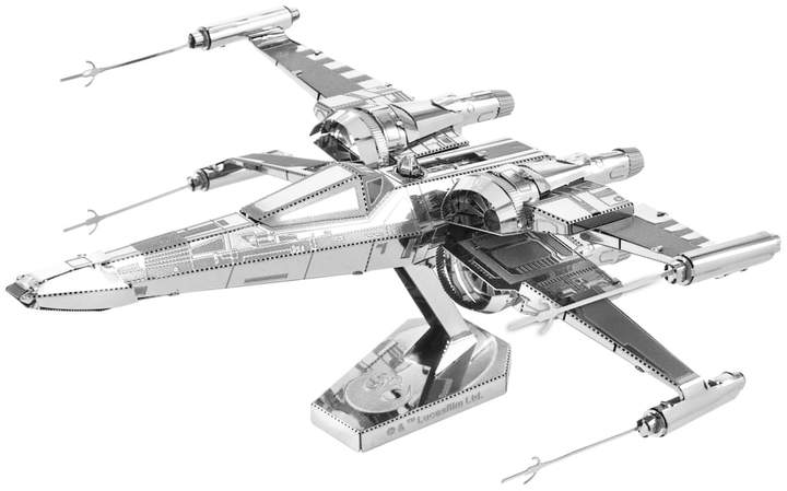 Fascinations Metal Earth 3D Laser Cut Model Star Wars: Episode VII The Force Awakens Poe Dameron's X-Wing Fighter by Fascinations