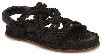 Topshop Fiesta Rope Flat Sandal (Women)