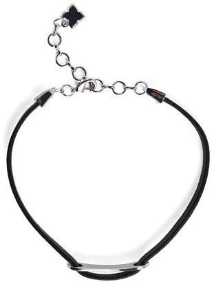 BCBGMAXAZRIA Leather Choker Necklace