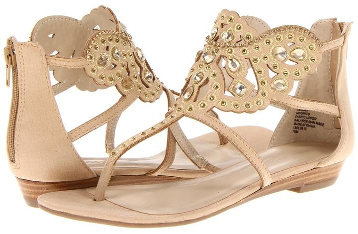 Nine West Unico (Gold Leather) - Footwear