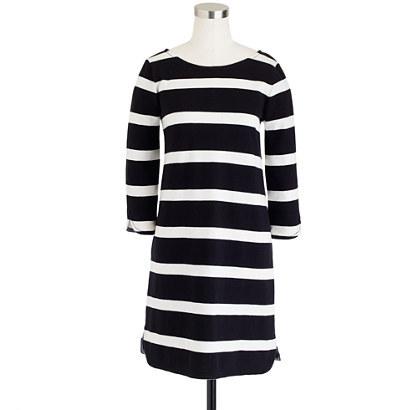J.Crew Stripe shirttail dress