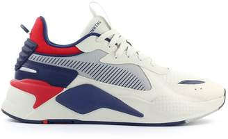 Puma Rs-x Hard Drive White Navy Blue Red Sneaker
