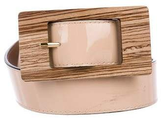 Marni Patent Leather Waist Belt
