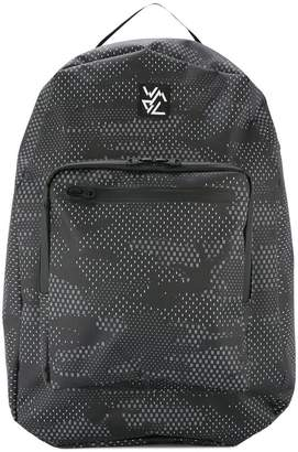 White Mountaineering camouflage print backpack