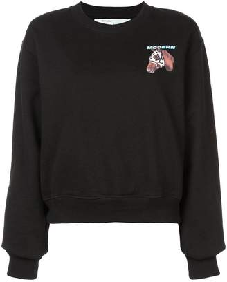 Off-White Horse print sweatshirt