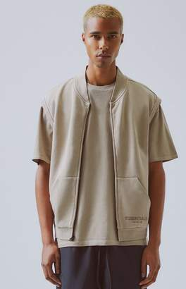 Fear Of God Fog FOG Essentials Fleece Zip Vest