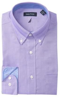 Nautica Solid Classic Fit Dress Shirt