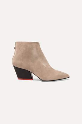 Freya Aeydē Suede Ankle Boots