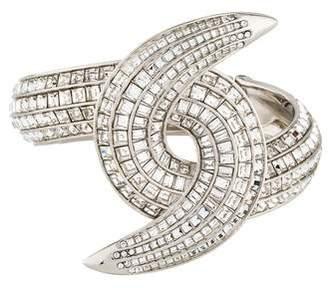 Chanel Strass Crystal Cuff