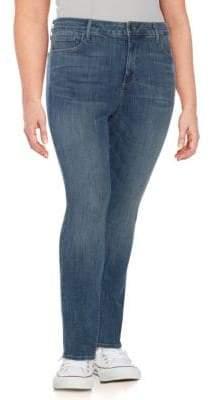 NYDJ Plus Sheri Slim Jeans
