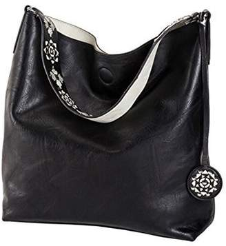 Sydney Love Reversible Hobo with Additional Cross Body Pouch