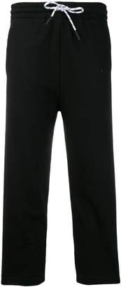 McQ drawstring cropped track trousers