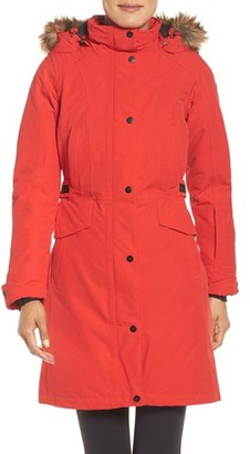 Women's The North Face 'Tremaya' Down Parka $420 thestylecure.com