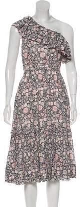 Rebecca Taylor Printed Midi Dress