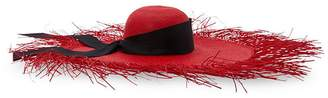 Sensi Studio Wide-brimmed straw hat