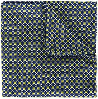 DSQUARED2 geometric embroidered scarf