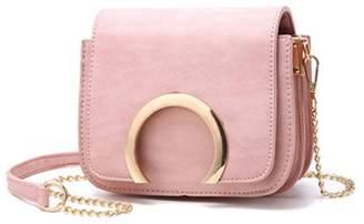 Qvfnaly Chains Women Crossbody Bag Handbags Women Clutch Small Flap Bags Women Shoulder Message Bag