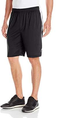 Head Men's Fire Starter Polyester Workout Gym & Running Shorts w/Elastic Waistband & Drawstring
