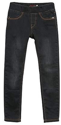Catimini Girl's Tregging Denim Trousers