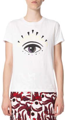 Kenzo Eye-Graphic Classic Crewneck T-Shirt