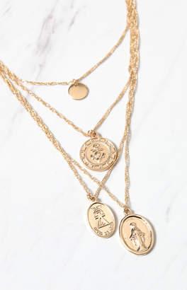 LA Hearts Pendant Charm Necklace