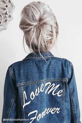 Forever 21 Love Me Forever Denim Jacket