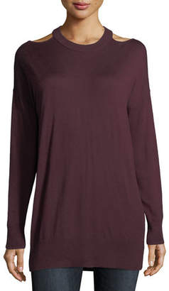 Splendid Canarise Cutout Cashmere-Blend Sweater