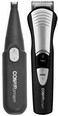 Conair Combo Trim 15-Piece Beard and Moustache Trimming System