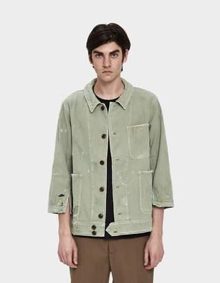 Visvim Benny Herringbone Crash Jacket