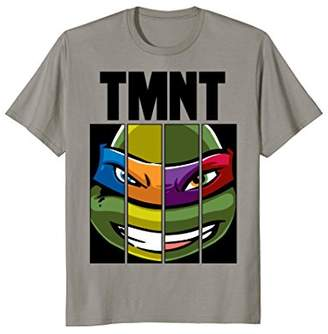 Nickelodeon Teenage Mutant Ninja Turtles Face Mash Up T-Shirt