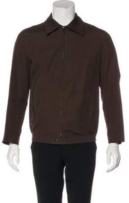 Louis Vuitton Ebene Damier Check-Lined Jacket