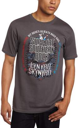 FEA Men's Lynyrd Skynyrd Support Southern Rock Tee