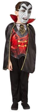 George Vampire Fancy Dress Costume