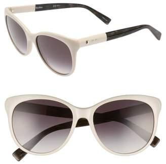 Max Mara Cosy 56mm Gradient Cat Eye Sunglasses
