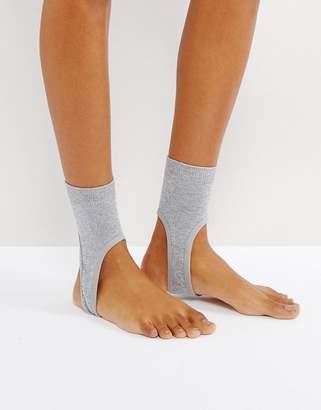 Asos Glitter Stirrup Socks