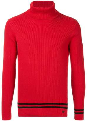 Loveless turtleneck knit top