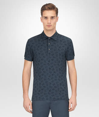 Bottega Veneta DENIM COTTON POLO