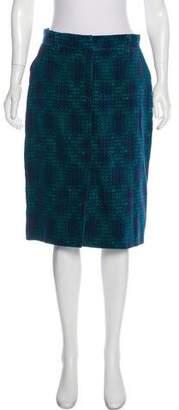 Fendi Vintage Velour Skirt