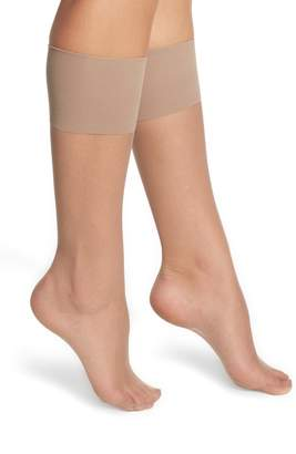 Nordstrom 2-Pack Naked Sheer Knee Highs