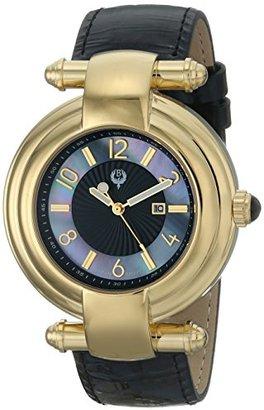 Brillier レディース31 – 02 Klassiqueアナログ表示クォーツブラック腕時計