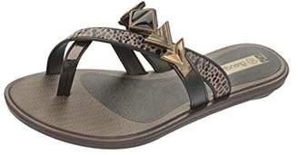 grendha Glamour Thong Womens Flip Flops / Sandals - Snake - SIZE US