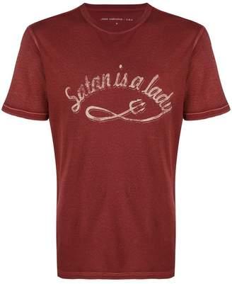 John Varvatos Satan Is A Lady T-shirt