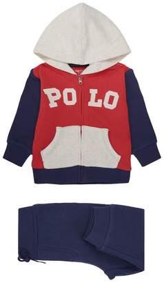 Polo Ralph Lauren Colour-Block Zip-Up Hoodie