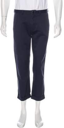 YMC Cropped Flat Front Pants