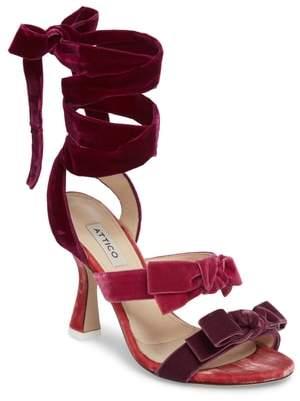 ATTICO Diletta Ankle Wrap Sandal
