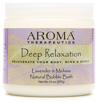 Aroma Therapeutics Abra Deep Relaxation Natural Bubble Bath Lavender & Melissa