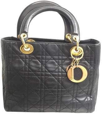 Christian Dior Lady leather handbag